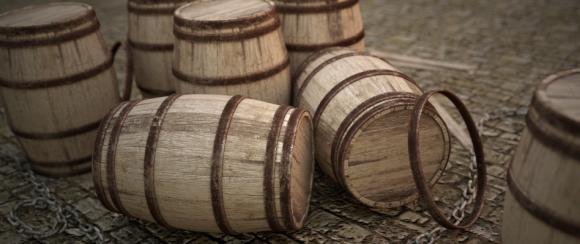 Rendering Wooden Barrels in Cycles videotutorials