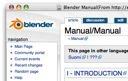 Download the Blender Manual documentation