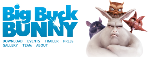Big Buck Bunny Now Online!! peach art