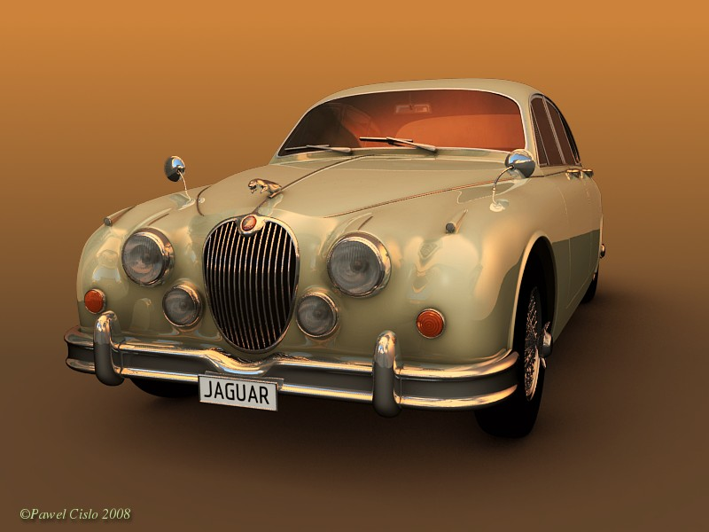 Tutorial Making of Jaguar MK2  BlenderNation