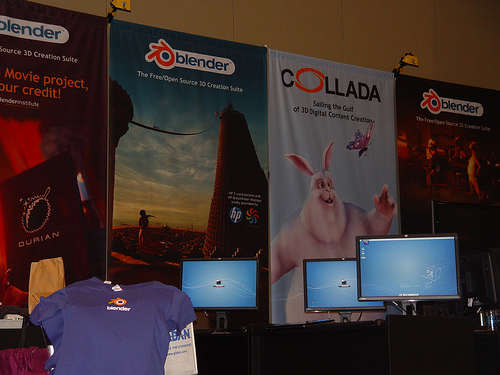 Animux used in Blender Booth