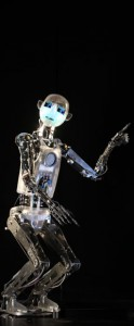RoboThespian art 3d news