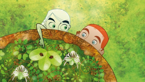 'The Secret of Kells' nominated for an Oscar! video art