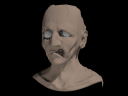 Sculpting a Zombie Head in Blender 2.54