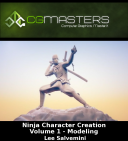 Lee Salvemini   Ninja Character Creation Volume 1   Modeling   Tutorial Video Review training videos