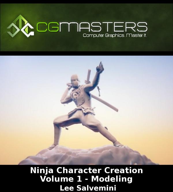 Blender Character Modeling Course : Lee salvemini ninja character creation volume