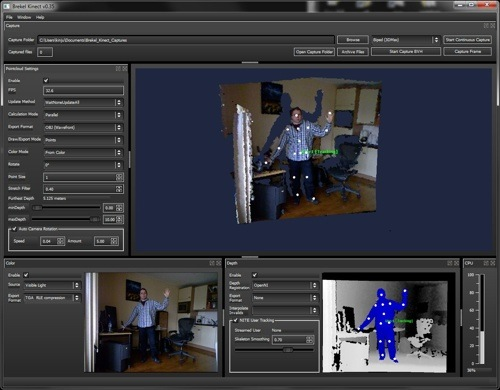 Motion Capture Data Bvh Tools And Files Blendernation