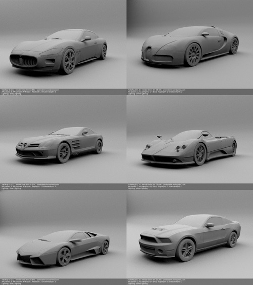 The Garage Is Open High Quality Car Models For Just 5