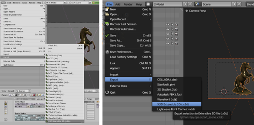 X3DOM: Online 3D using HTML5 standards with Blender 2.5x support  toolbox