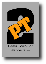 Poser Tools for Blender 2.5 Blender3D toolbox
