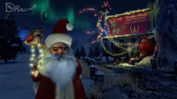 Angry Santa images