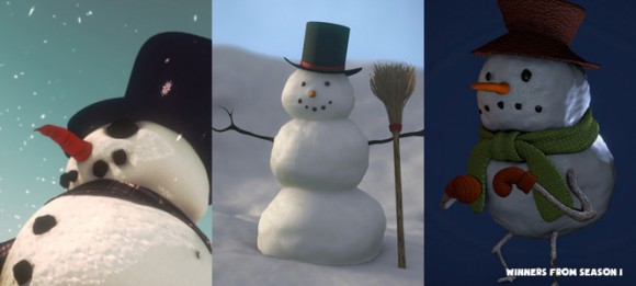 Contest: Creating a Snowman, Season 2 fun contests