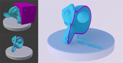 Carve Library for new Boolean Operation soon in Trunk blender development