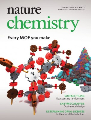 Blender used to make cover art for Nature Chemistry images