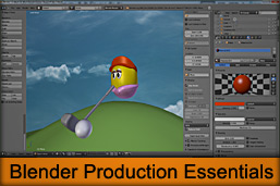 Blender Production Essentials Webinar Now Online training videos