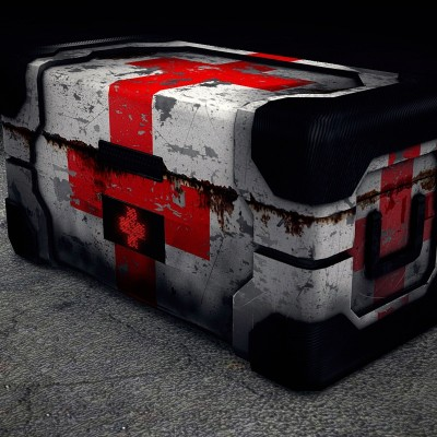Model: Low Poly Health Crate 3d news