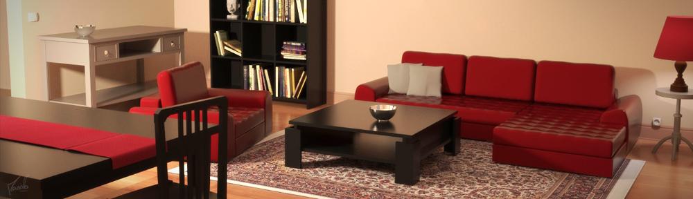 Red And Black Lounge Blendernation