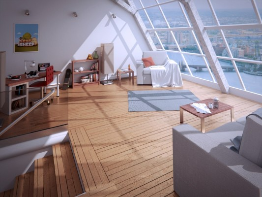 Training Course: Interior 3D Architectural Visualization in Blender 2.6 training videos