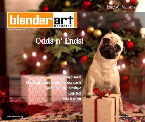 Blenderart Mag Issue #36 Now Available magazines