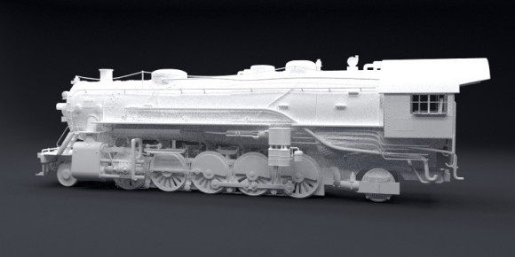 Model: Locomotive blender models and rigging sytems