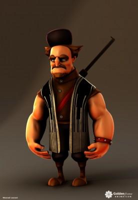 Bakhtiari character images