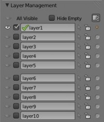 Add on: Layer Manager add ons