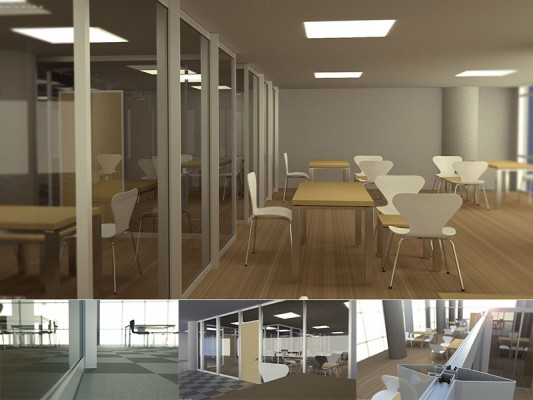 Model: Alcas Office Partition Wall Systems blender models and rigging sytems