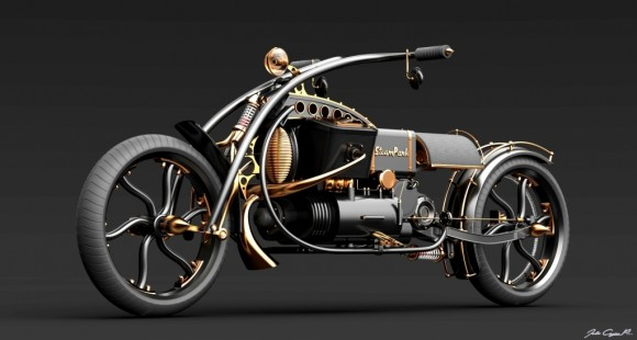 Steampunk Bike images