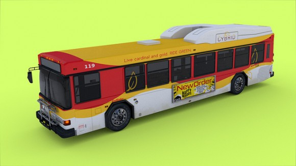 Model: City Bus blender models and rigging sytems
