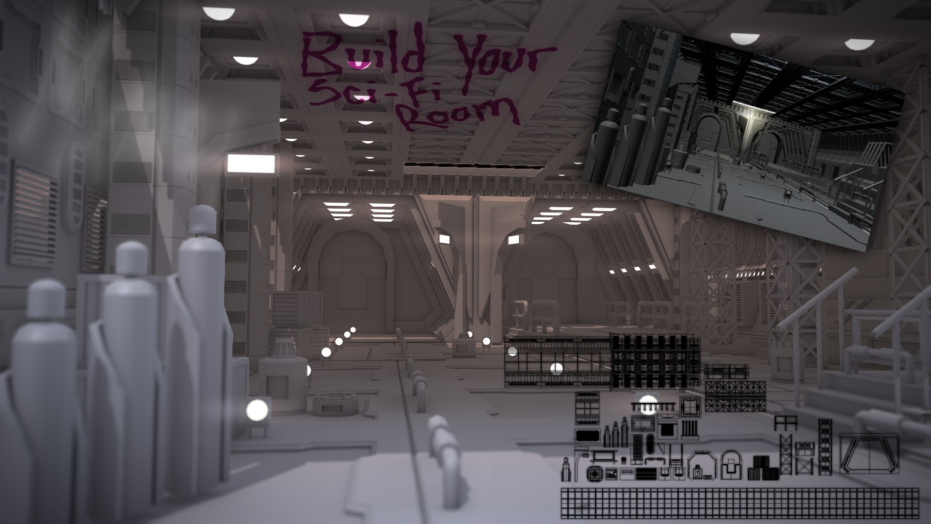 Build Your Own Sci-Fi Room - BlenderNation