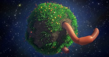 big worm little planet