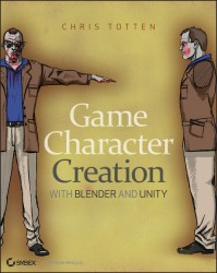 New Book: Game Character Creation with Blender and Unity books