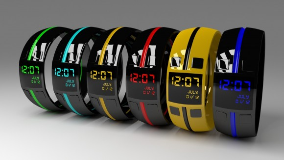 Model: Digital Watches blender models and rigging sytems
