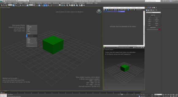 Blender Theme for 3DS Max fun