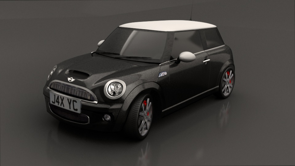model austin mini cooper s blendernation. Black Bedroom Furniture Sets. Home Design Ideas