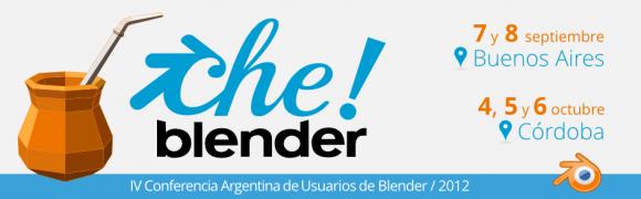 CheBlender 2012: Buenos Aires, Córdoba conferences