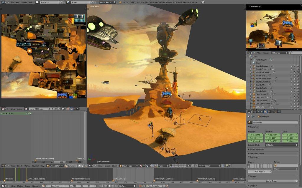 Shufflepuck Cantina Ios Game Made In Blender Blendernation