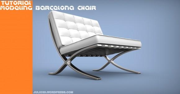Modeling a Barcelona Chair videotutorials