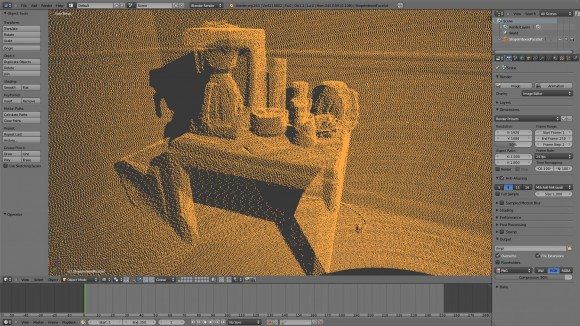 Getting Point Clouds into Blender videotutorials
