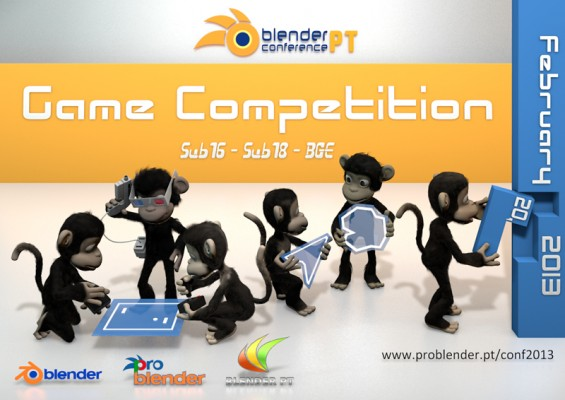 Blender PT Conference 2013 + Game Contest conferences