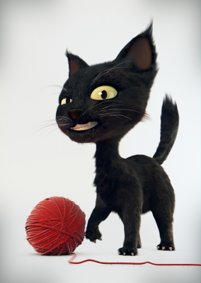 Model Download: Cat blender models and rigging sytems