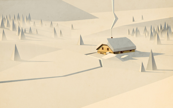 Simplified landscapes with Blender by Pierre Abraham Rochat people images