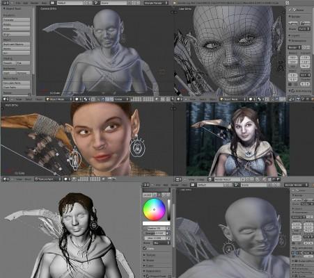 Elf Archer images
