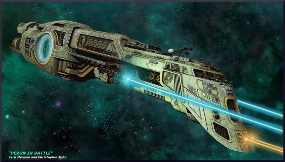 Perun Class Destroyer video art images