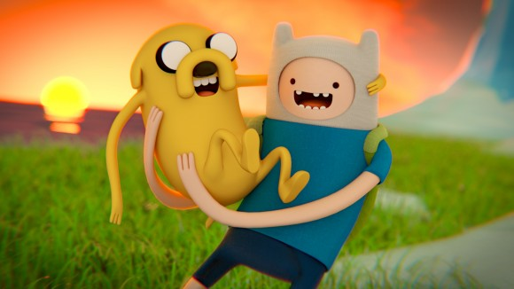 Adventure Time! video art images