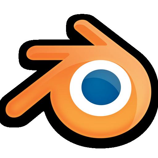blender logo shinyBlender Logo