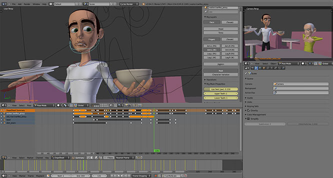 Blender Animation Toolkit – Training Series from CG Cookie ...