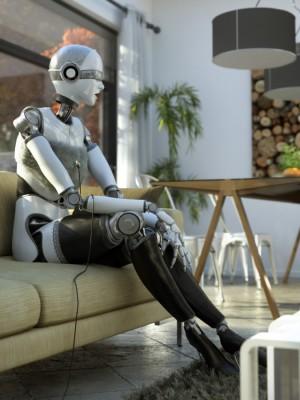 Robo Woman!