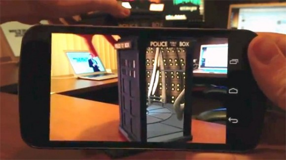 Doctor Who: Augmented Reality Tardis 3d news