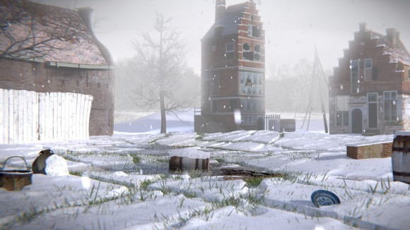 Create a Snow Scene in Blender videotutorials